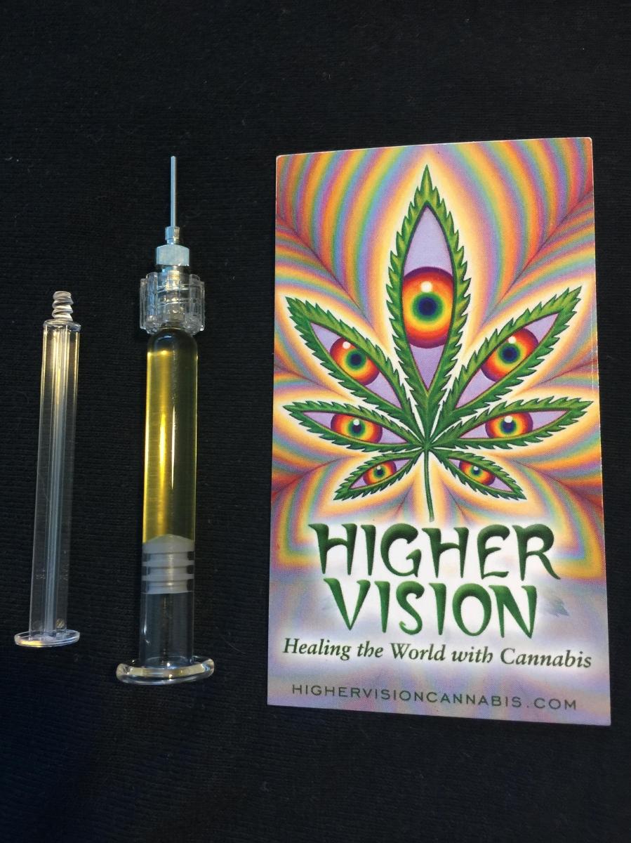 Higher Vision Cannabis' Award-Winning Super Oil